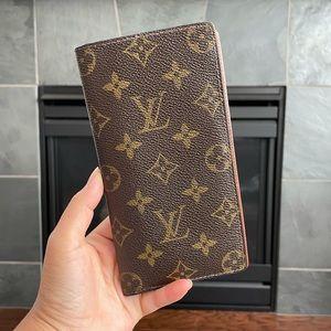 Louis Vuitton Bi fold long wallet